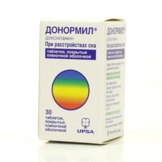 препараты от бессонницы без рецептов