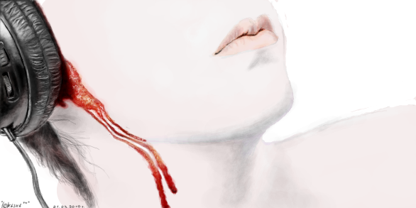 кровит ухо