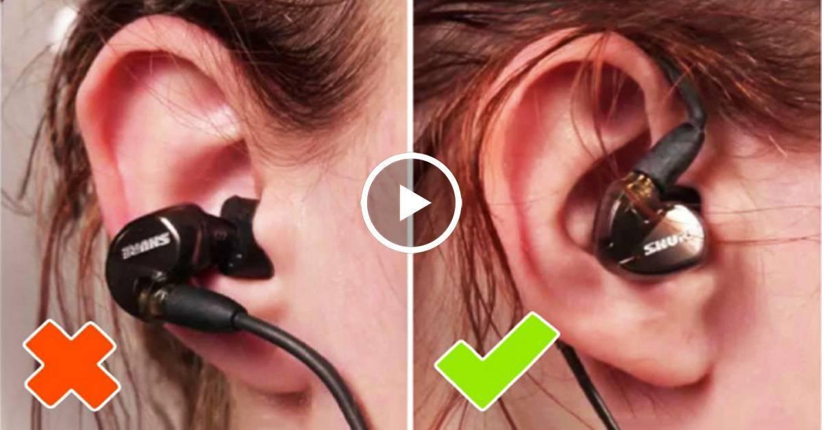 Болят уши от наушников