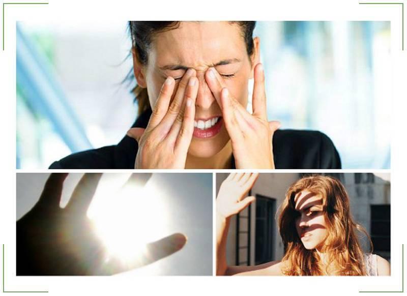 Боязнь света фобия