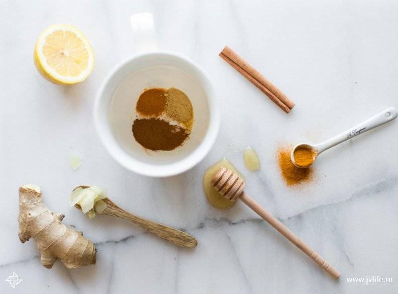 Корень имбиря при простуде, кашле и насморке: рецепты и самый действующий способ заварить напиток