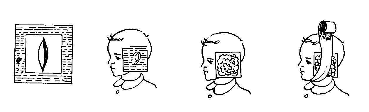 Компресс на ухо: виды, правильное наложение, препараты, показания