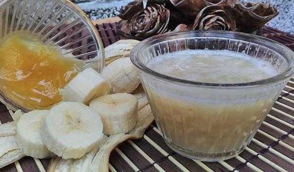 рецепт от кашля с бананом