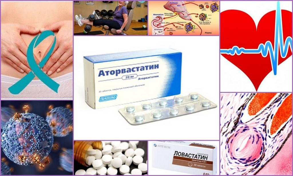 Современные препараты для лечения атеросклероза