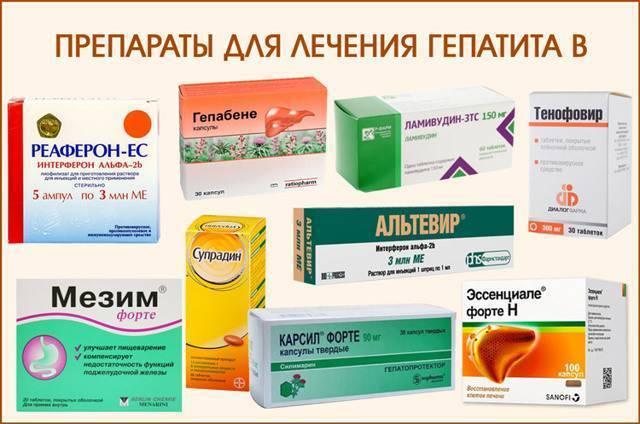 Лучшие лекарства от гепатита в: новые современные средства лечения