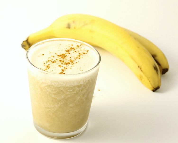 банан с сахаром от кашля