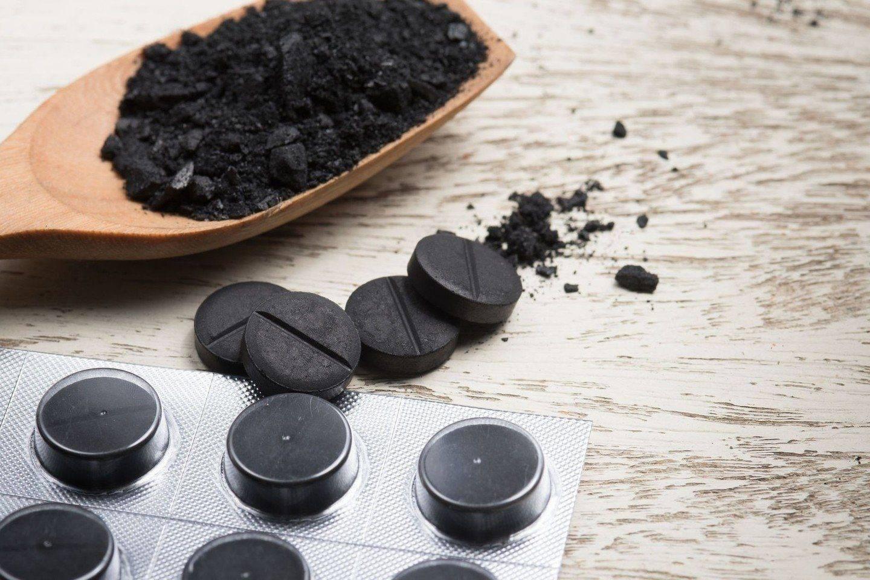 чистка печени активированным углем