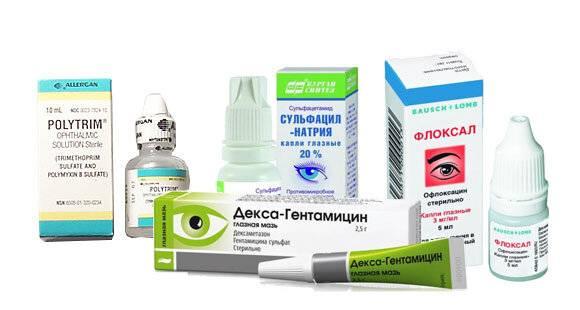 Обзор самых эффективных лекарства от конъюнктивита