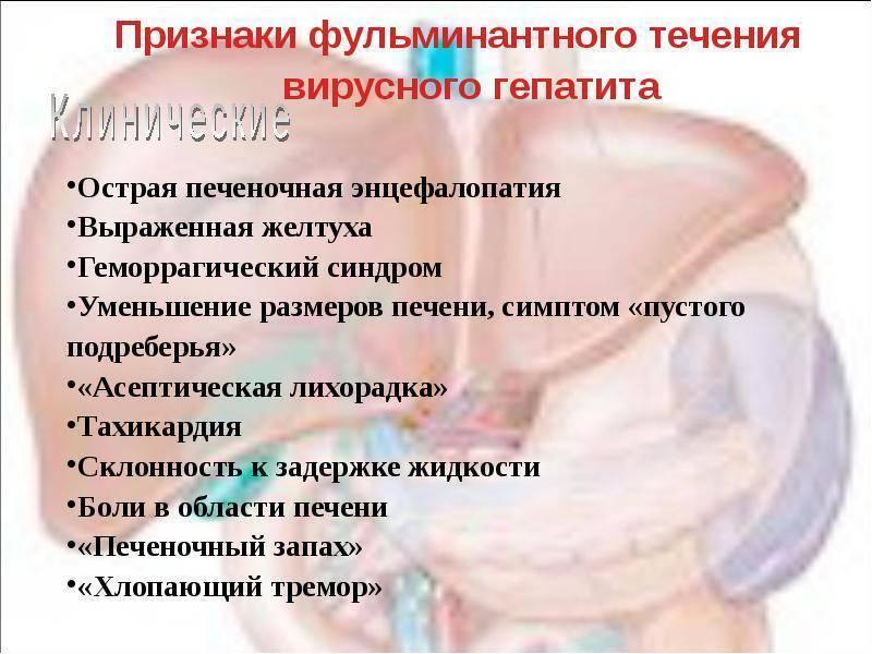 Фульминантный вирусный гепатит