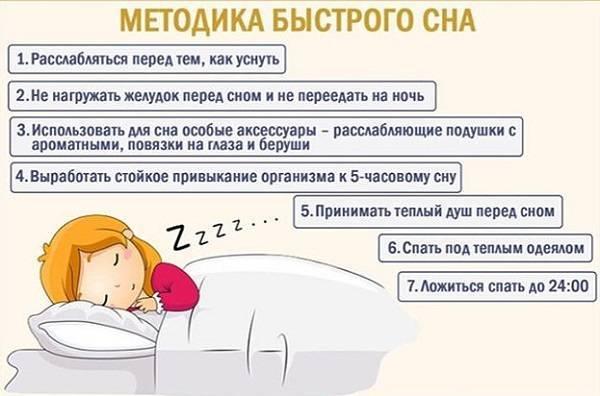 Как быстро уснуть, если не спится — полезный совет
