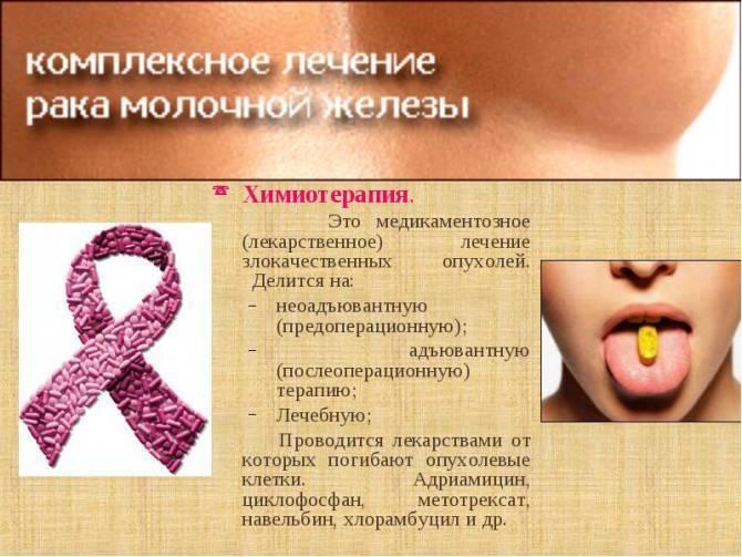 Рак груди. причины, симптомы, диагностика и лечение заболевания