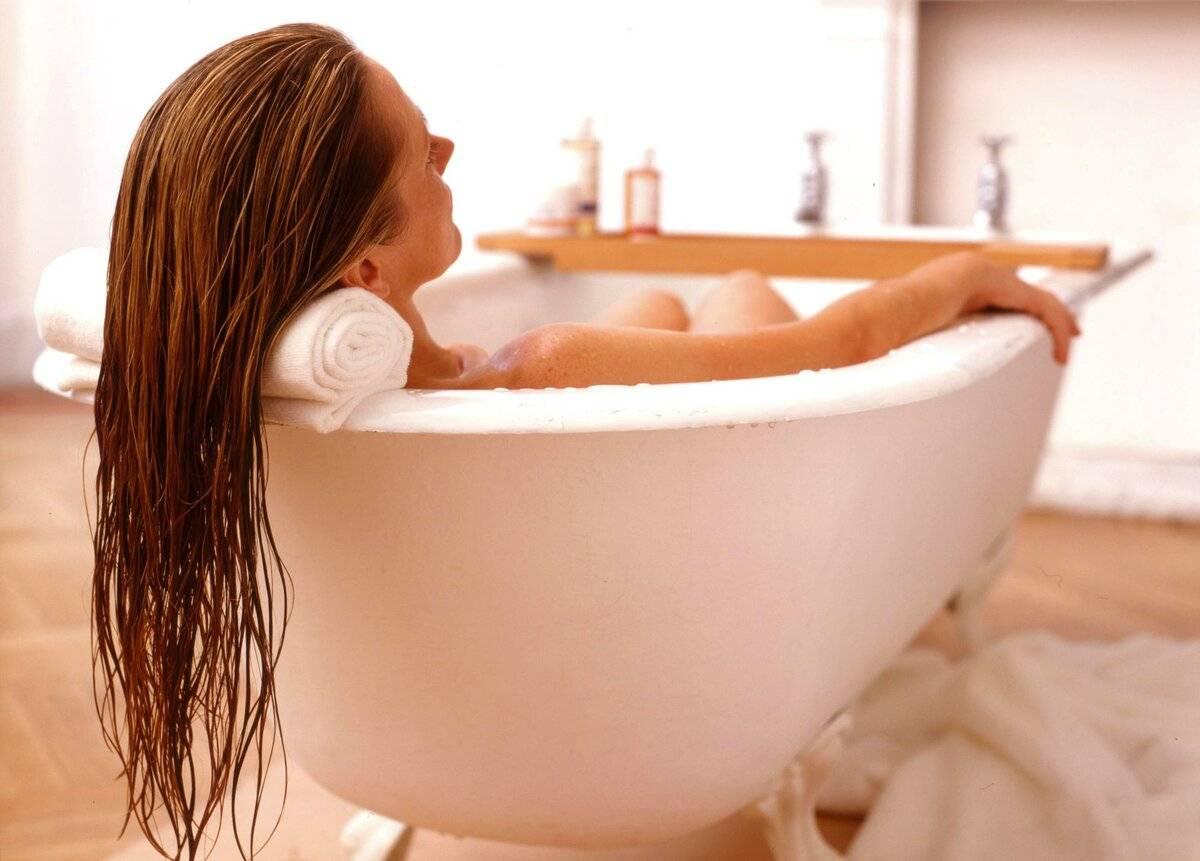 цистит горячая ванна