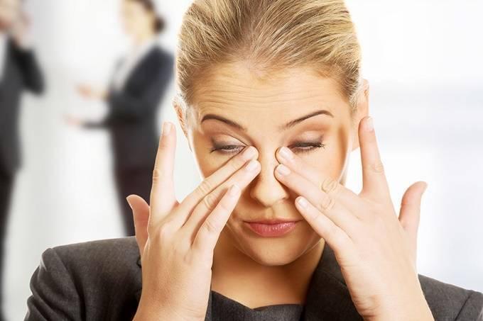 дергается глаз у беременной