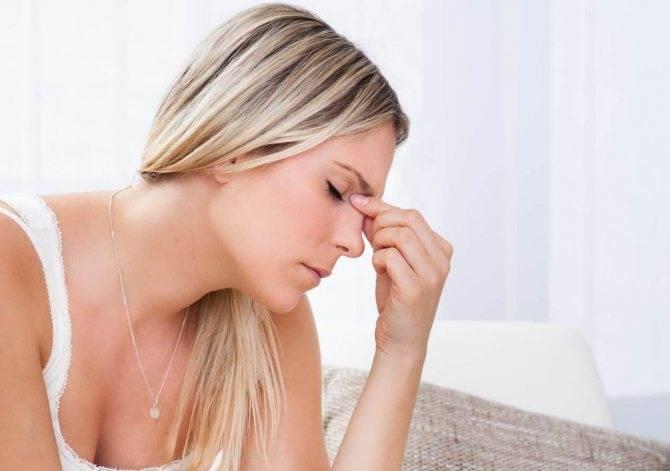 болит нос при дотрагивании