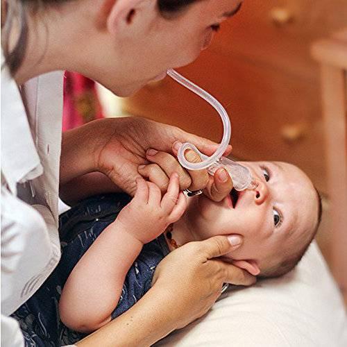 как промыть нос младенцу