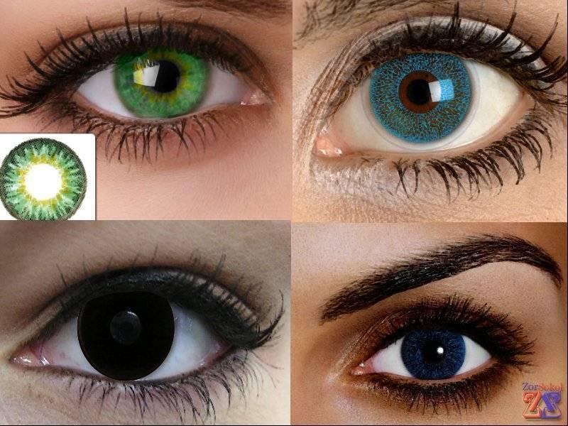 Непростой вопрос – вредны ли линзы для глаз? цветная контактная оптика: возможная опасность