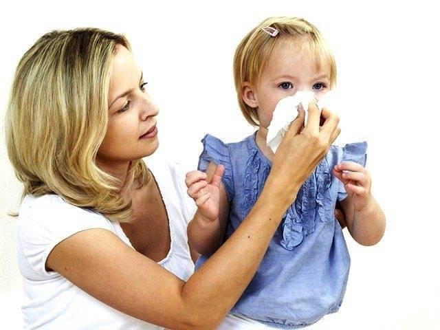 Аллергический насморк у детей, лечение и диагностика