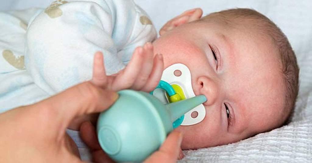 сопли у ребенка 1 месяц