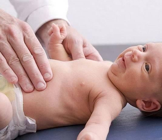 признаки умеренной гепатомегалии у ребенка
