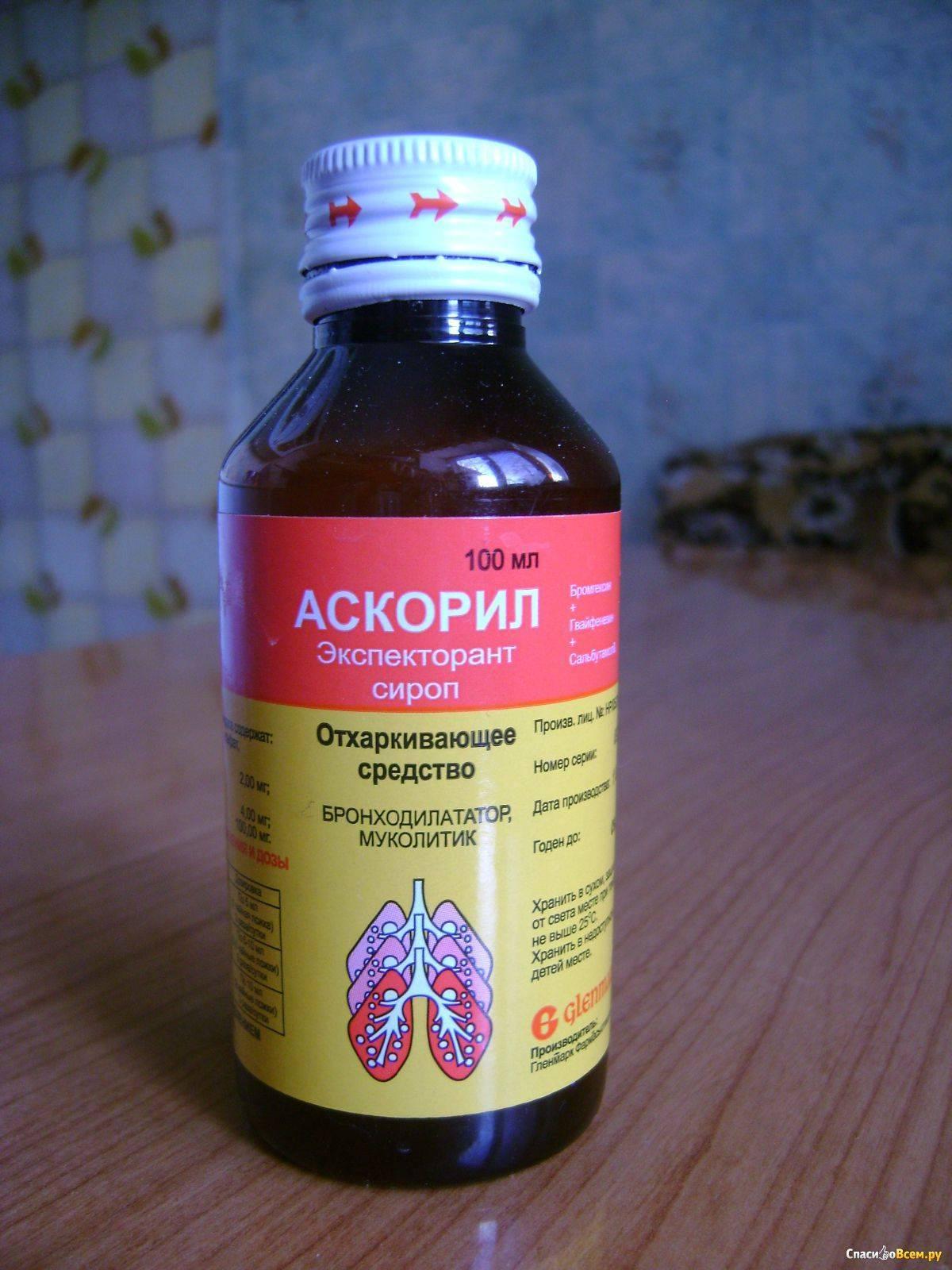эффективный сироп от кашля