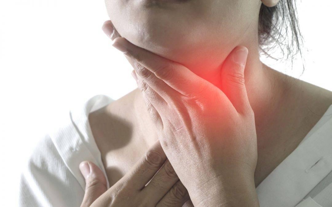 сушит и болит горло