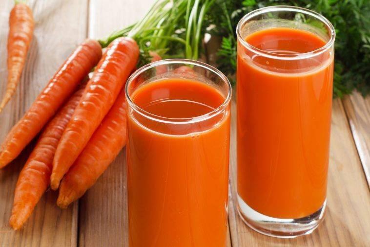 Морковный сок от насморка