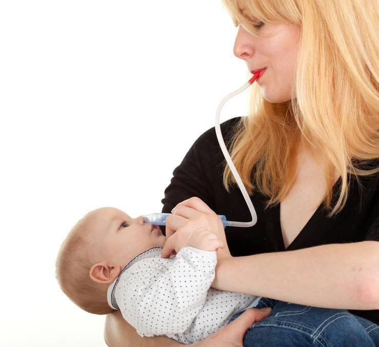 как прочистить нос грудному ребенку