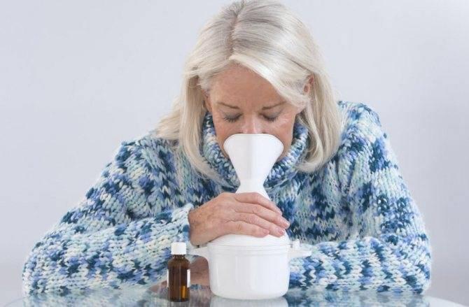 С чем делать ингаляции при сухом кашле?