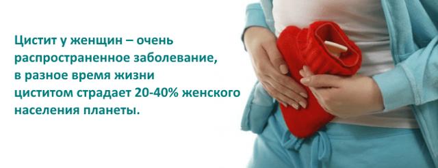 Симптомы и лечение цистита у женщин в домашних условиях
