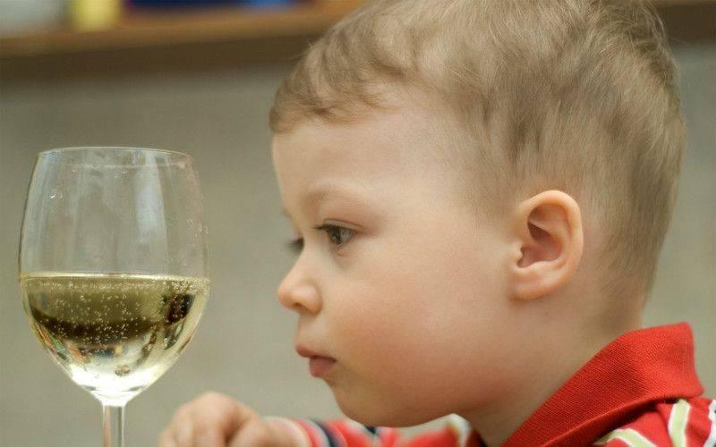детский алкоголизм причины и последствия