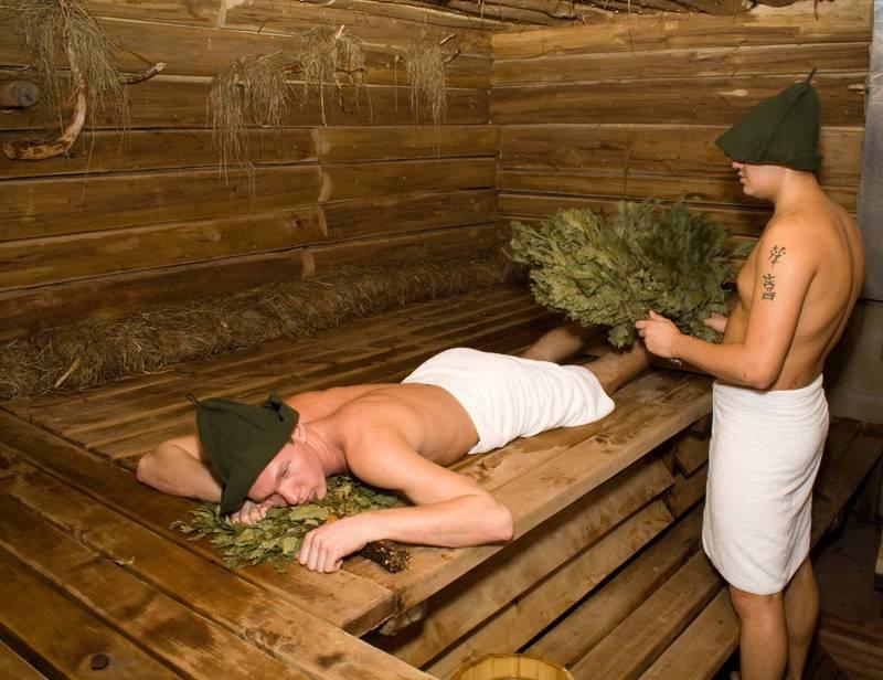 Гайморит и баня