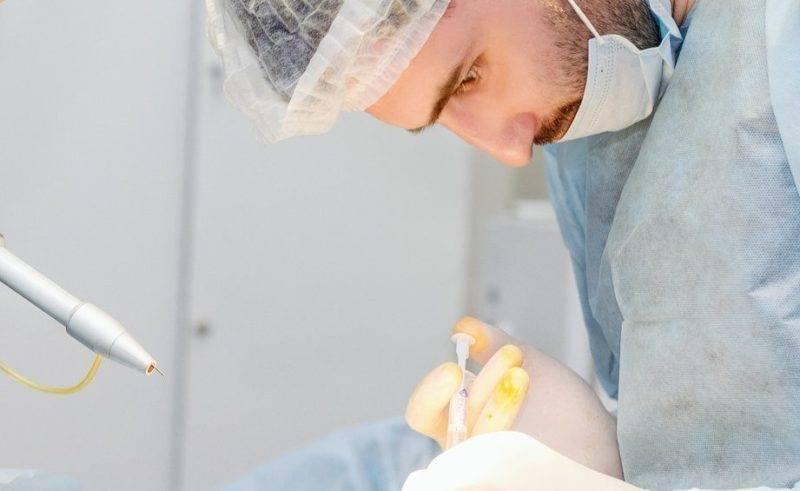Лечение наружного геморроя лазером