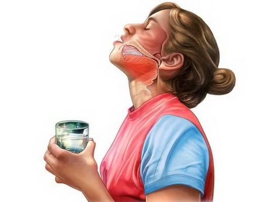 Чем смягчить горло при сухом кашле, как полоскать в домашних условиях?