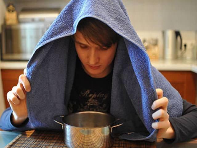 Ингаляции над картошкой при насморке: пошагово и с умом