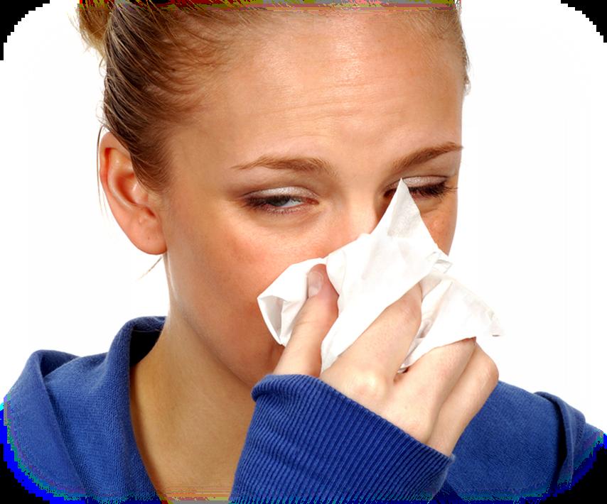 Лечение чихание насморк