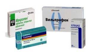 антибиотик при сухом кашле у взрослых