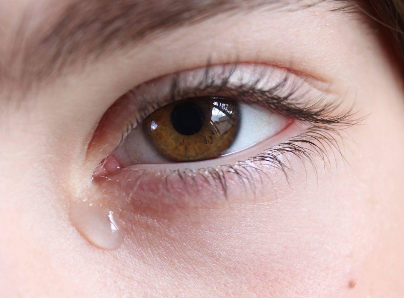 Голова болит глаза красные и слезятся глаза