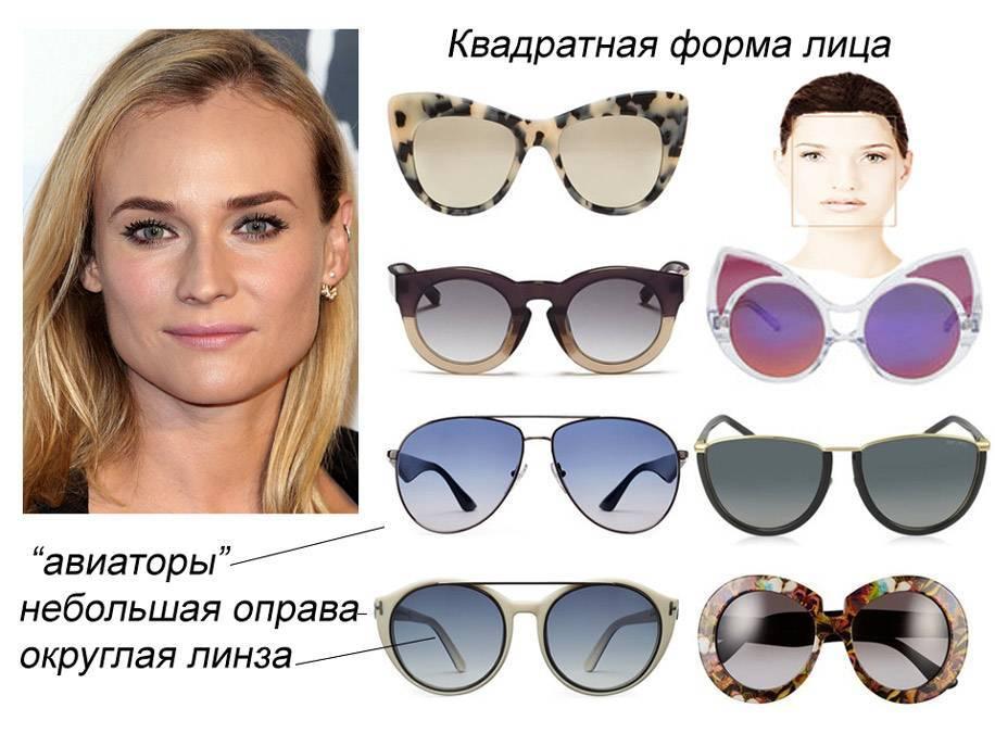 как правильно подобрать очки для зрения по форме лица
