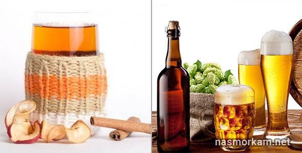 Помогает ли лечение горячим пивом от боли в горле, рецепты приготовления