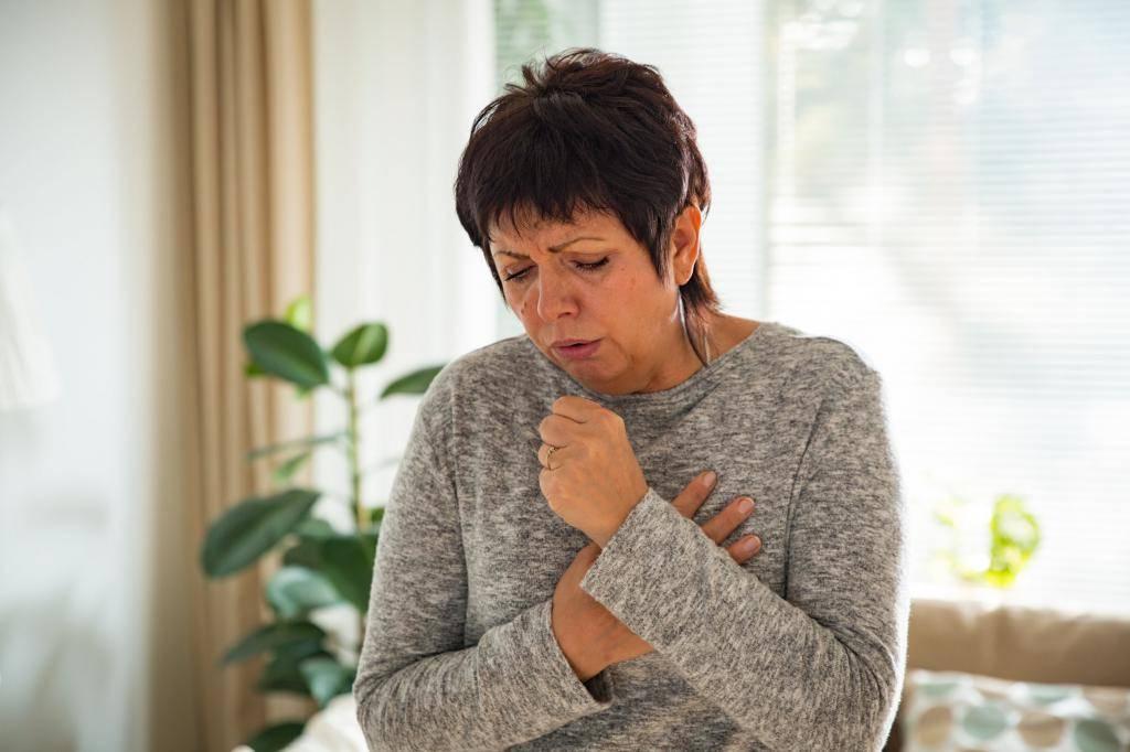 сильный кашель горло не болит