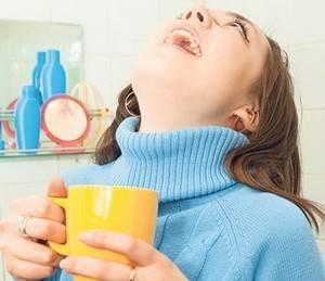 Раствор соды для полоскания зуба как делать