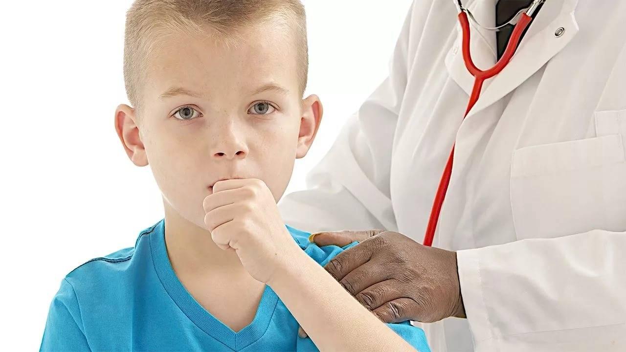 у ребенка начинается кашель