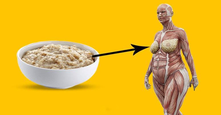 Снижение и выведение вредного холестерина с помощью геркулеса