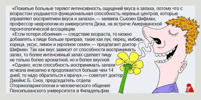 Не чувствую запаха и вкуса... - запись пользователя ирочка (id1541277) в сообществе семейное здоровье в категории прошу совета - babyblog.ru