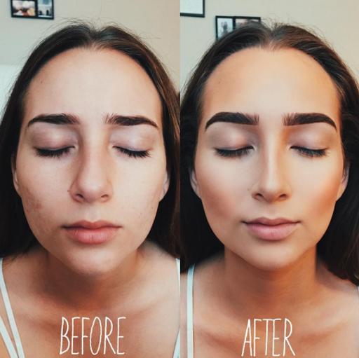 Как визуально уменьшить нос с помощью макияжа?