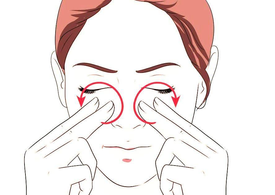 Точечный массаж от насморка и заложенности носа