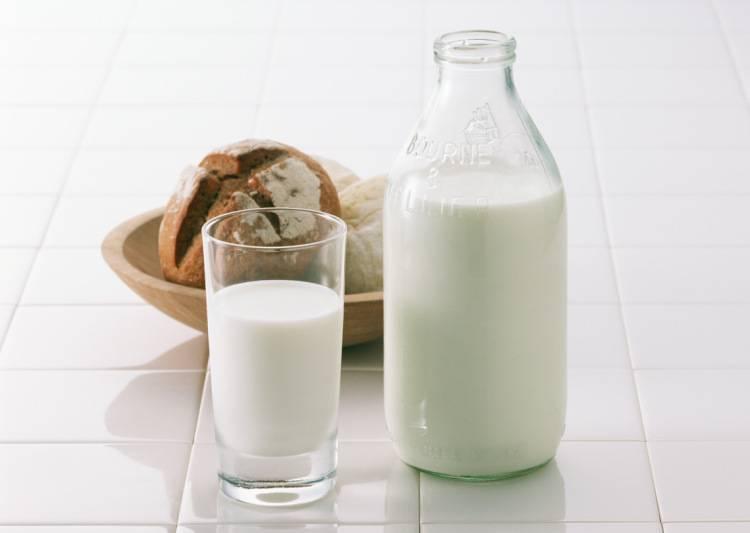 молоко с маслом при ангине