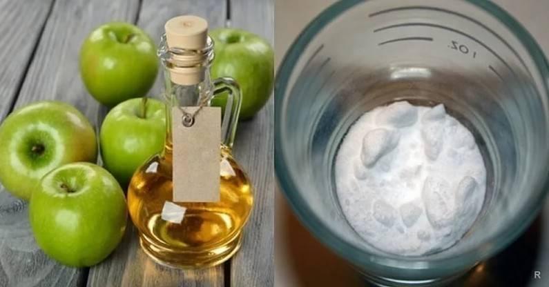 Как лечить горло при помощи яблочного уксуса?