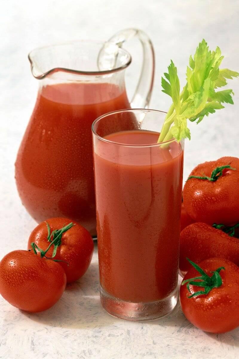 Полезные свойства томатного сока для женщин