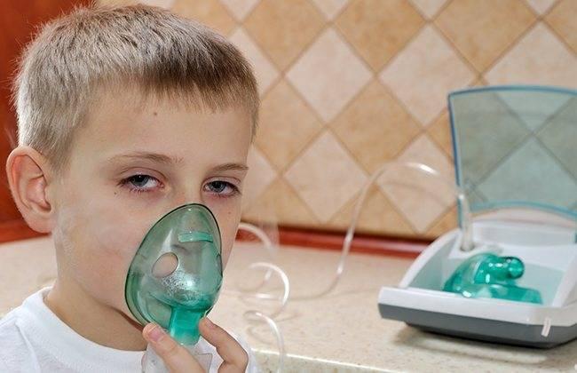 ингаляция при насморке небулайзером рецепты для детей